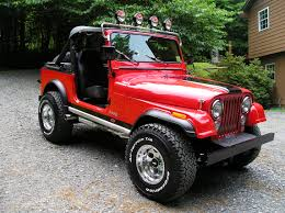red jeeps customwork