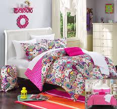 X Long Twin Bedding Sets by Amazon Com Chic Home 8 Piece Princess Paisley And Polka Dot