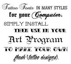 artistic tattoo fonts 1 0 apk androidappsapk co