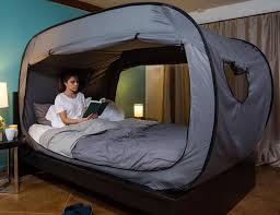 the privacy bed tent newest invention for a good night s sleep privacy pop up bed tent white bed