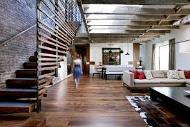 loft style interior design ideas big loft design living room