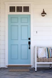 why is it so popular to paint your front door a bright color