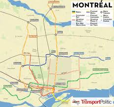 Map Of Montreal Montréal Moves Forward With Tramway In Line With Hopes For