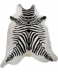 Black And White Zebra Area Rug Amazing Holiday Shopping Savings On Handmade Zebra Print White