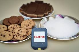 glucose cuisine glucose meter cookies and sugar stock photo image of cake