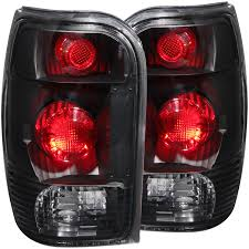 Ford Explorer Black - anzo usa ford explorer 98 01 mountaineer 98 01 tail lights