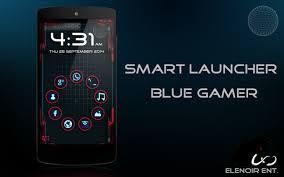 smart luncher apk smart launcher blue gamer 1 0 1 apk for android aptoide