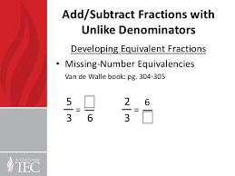 add subtract fractions unlike denominators word problems free