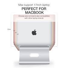 Schlafzimmerm El Top Tip Spinido Verbesserte Alulegierung Cooling Laptop Stand Amazon De