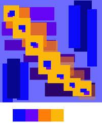 double complementary 2 colors kathryn watt