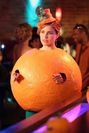 Clockwork Orange Halloween Costume Brooke Davis Orange