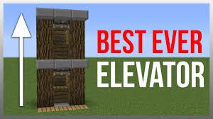 Minecraft Furniture Ideas Pe Minecraft 1 9 Redstone Tutorial Best Elevator Minecraft