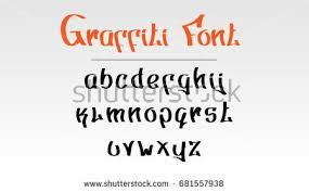 graffiti font stock images royalty free images u0026 vectors