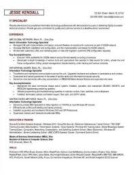 Security Specialist Resume It Specialist Federal Resume Sample