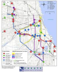 Metra Train Map Chicago by Projects Spotlight Us Department Of Transportation