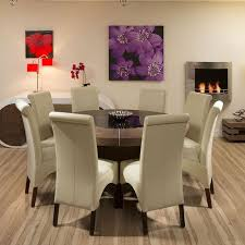 Collection In Round Dining Table For  People Dining Room Table - Modern round dining room table