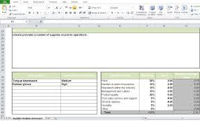 Supplier Scorecard Template Excel Supplier Scorecard Excel Template Excel Tmp