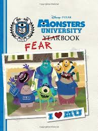 monsters university fearbook disney book group calliope glass