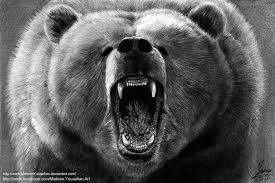 bear angry roaring face tattoo photo 2 photo pictures and