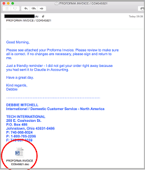 Payment Reminder Letter To Client Breaking Zero Day Russian Invoice Scam Targets Businesses