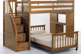 bunk bed full size bed wood loft bunk bed brilliant wooden loft bunk bed with desk