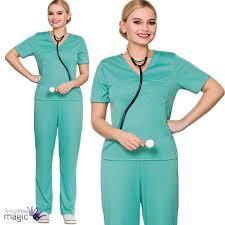 bloody doctor halloween costume nurse women u0027s fancy dress ebay