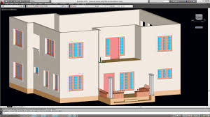 3d House Plan by Creating The First Floor From The Ground Floor For Autocad Double