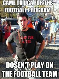 Funny College Football Memes - southern college student memes quickmeme