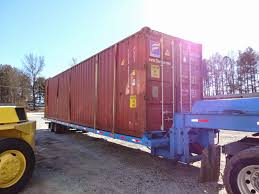 how do i relocate an empty shipping container atlanta used