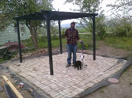 Cheap Pergola Ideas by Milk And Rain Stone Face Farm