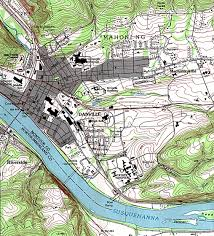 York Pennsylvania Map by