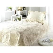 jeté de canapé blanc jete de lit 1 personne couvre lit 1 personne blanc