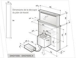 hotte de cuisine de dietrich hotte escamotable de dietrich dhd 1101 x ilike