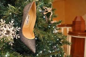 jimmy choo shoes grow on montage laguna beach christmas tree
