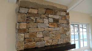 how to install stone veneer fireplace surround youtube