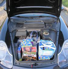 porsche trunk one lap grocery getter family caught cheating again this