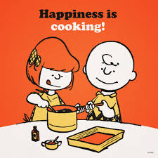 peanuts cooking brown thanksgiving charles schultz