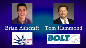 brian ashcraft of liberty tax service tom hammond of bolt