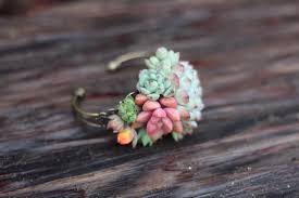 Wrist Corsage Prices Succulent Cuff Corsage Bracelet Live Wholesale Succulents