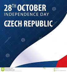 Chez Republic Flag Independence Day Of Czech Republic Flag And Patriotic Banner