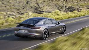 porsche panamera turbo executive 2017 porsche panamera turbo executive rear three quarter hd