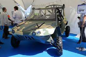 amphibious vehicle russian company developed triton all terrain flying amphibious