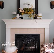 fireplace amusing decorating mantels with wall mirror and