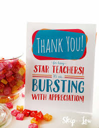 teacher appreciation gift ideas crafts and decorations