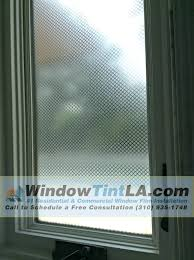 diamond frost window film installed for privacy window tint los