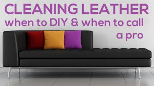 How To Clean A Leather Sofa How To Clean Leather Furniture Diy Or Call A Pro Coit