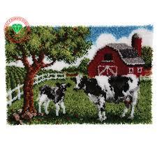 aliexpress com buy unfinished crocheting rug yarn cushion
