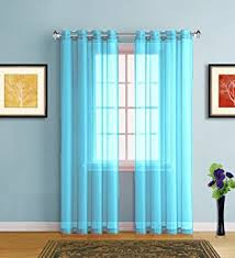Baby Blue Curtains Warm Home Designs Pair Of 2 Standard Size 54 Width