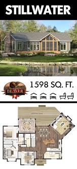 cottage design plans the stillwater is a spacious cottage design suitable for year round