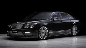 black bentley back black cars vehicles bentley continental flying spur bison